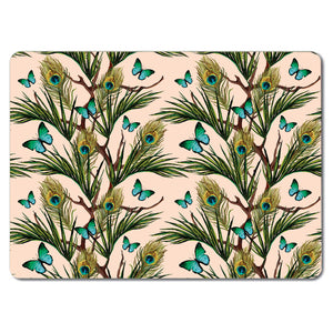 Peacocks and Butterflies Tablemat