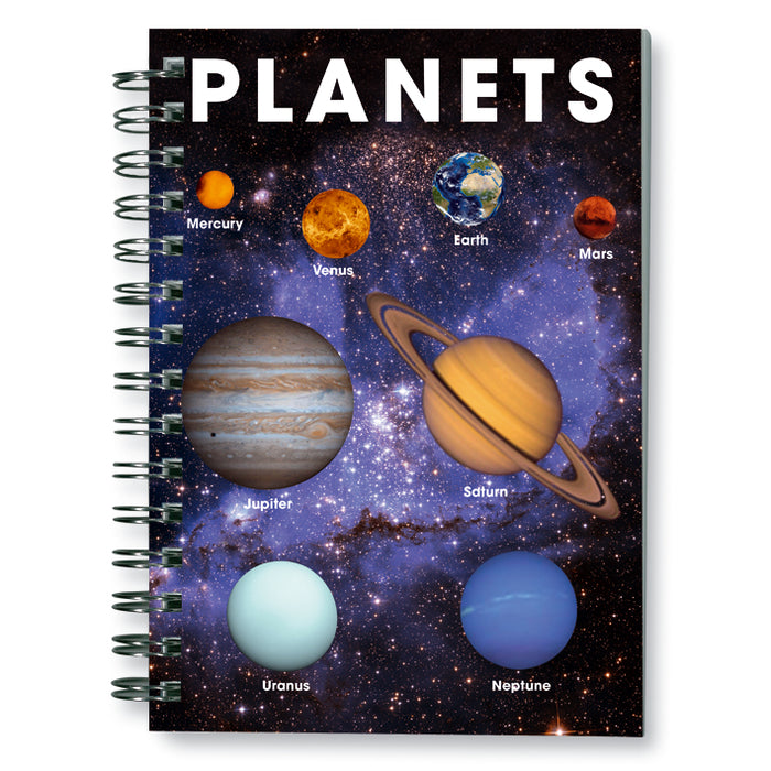 Planets - Spiral Notebook<br>(Pack of 10)