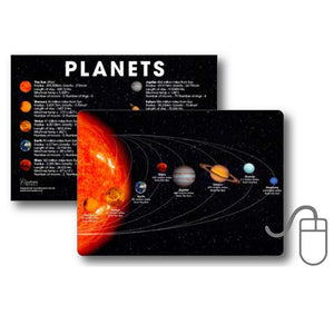 Solar System - Mini Mousemat<br>(Pack of 5)