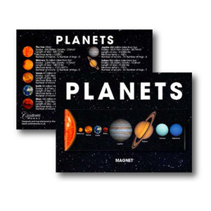 Solar System - Fridge Magnet<br>(Pack of 10)