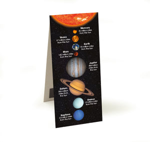 Solar System - Magnetic Bookmark<br>(Pack of 20)
