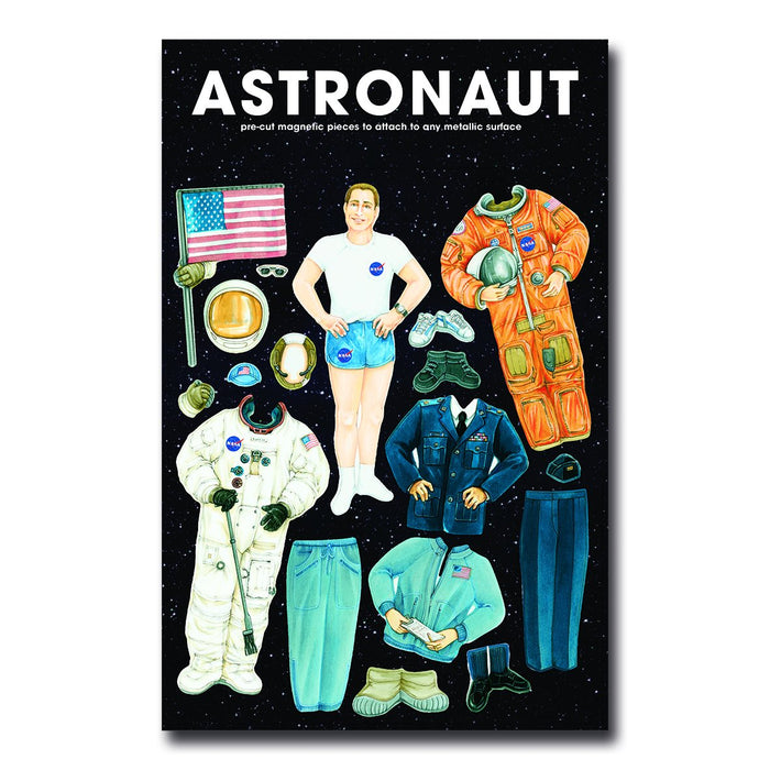 Dress-up Astronaut Magnet Set<br>(Pack of 5)