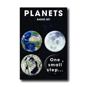 Moon Landing - Badge Set<br>(Pack of 10)