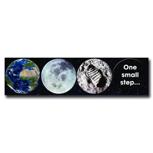 Moon Landing - Magnet Strip of 4<br>(Pack of 5)