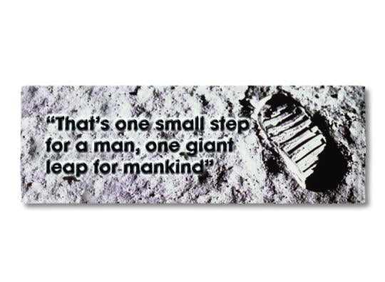 One Small Step - Fridge Magnet<br>(Pack of 10)