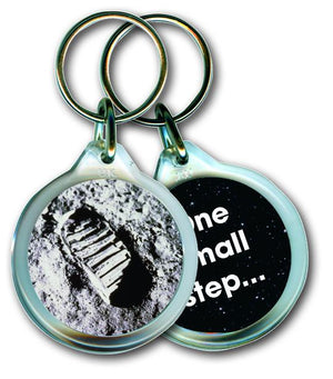 One Small Step - Acrylic Keyring<br>(Pack of 10)