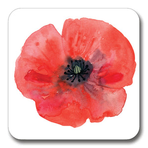 Poppy Head Coaster<br>(Pack of 10)