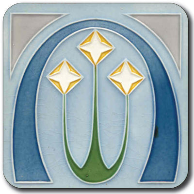 Art Nouveau Tile 10 Potstand<br>(Pack of 5)
