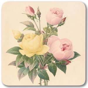 Yellow China Rose and Pink China Rose - Potstand<br>(Pack of 5)