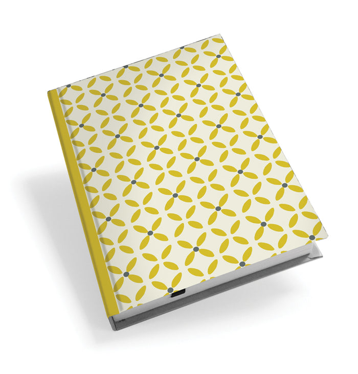 Yellow Daisy Hardback Journal<br>(Pack of 5)