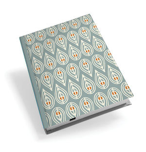 Teal Leaf Hardback Journal<br>(Pack of 5)
