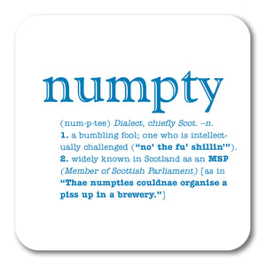 Numpty  Coaster<br>(Pack of 10)