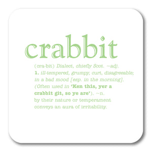 Crabbit  Coaster<br>(Pack of 10)