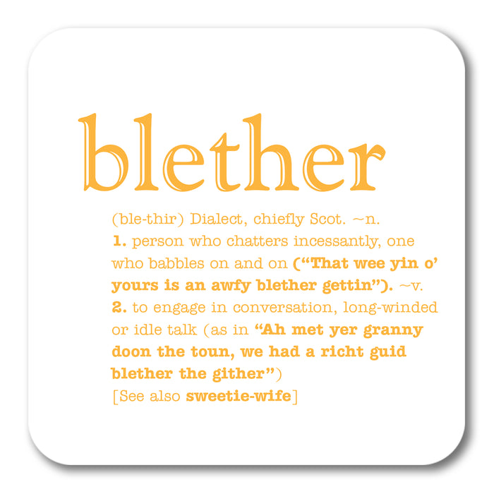 Blether Coaster<br>(Pack of 10)