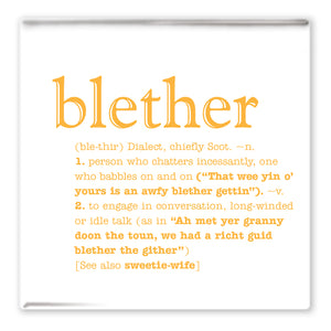 Blether Fridge Magnet<br>(Pack of 10)
