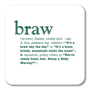 Braw Coaster<br>(Pack of 10)