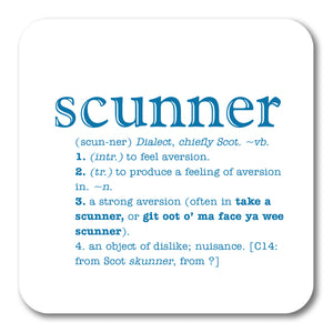 Scunner Coaster<br>(Pack of 10)