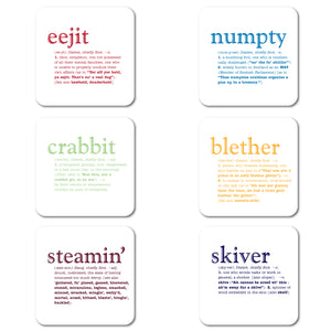 Dialect Set of 6<br>(Pack of 4)