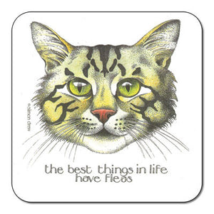 Fleas  Coaster<br>(Pack of 10)