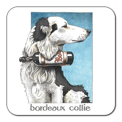 Bordeaux Collie  Coaster<br>(Pack of 10)