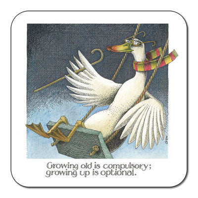 Growing Old  Coaster<br>(Pack of 10)