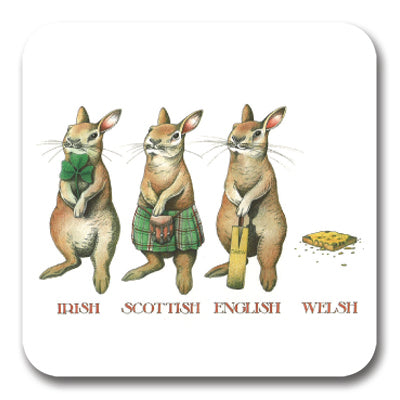 Irish Scottish English Welsh Coaster<br>(Pack of 10)