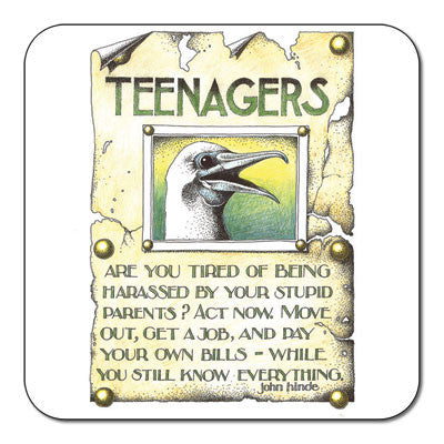 Teenagers  Coaster<br>(Pack of 10)