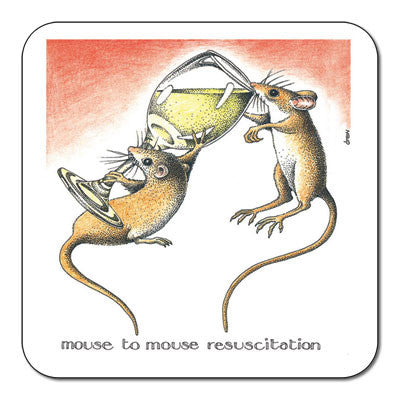 Mouse to Mouse  Coaster<br>(Pack of 10)
