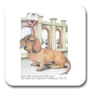 Red Wine Improves Coaster<br>(Pack of 10)