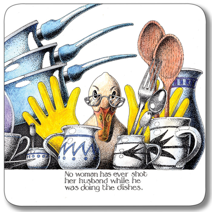 Doing the dishes Coaster<br>(Pack of 10)