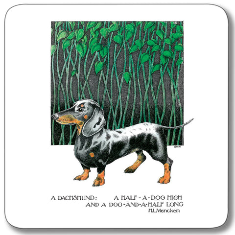 1. Dachshund Coaster<br>(Pack of 10)