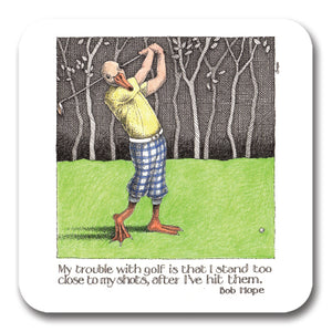 Trouble With Golf Coaster<br>(Pack of 10)