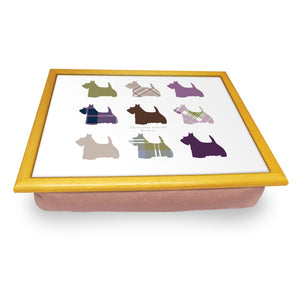 Scottie Dog Repeat Cushion Trays<br>(Pack of 2)