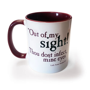 Out of my Sight - Mug<br>(Pack of 6)