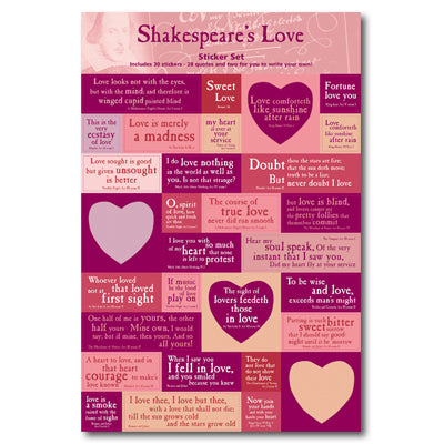 Love Quotes Sticker Set<br>(Pack of 10)