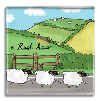 Rush Hour  Fridge Magnet<br>(Pack of 10)