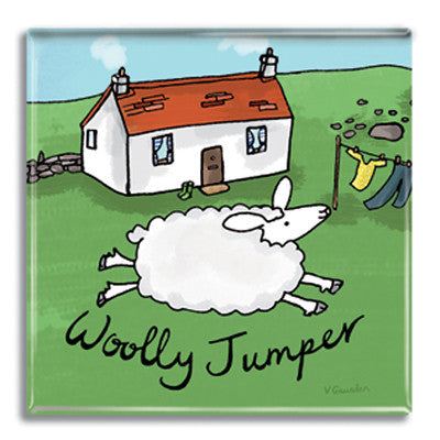 Woolly Jumper Fridge Magnet<br>(Pack of 10)
