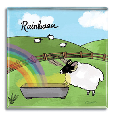 Rainbaaa  Fridge Magnet<br>(Pack of 10)