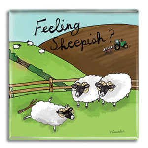 Feeling Sheepish  Fridge Magnet<br>(Pack of 10)