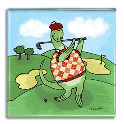 Nessie Golf  Coaster<br>(Pack of 10)
