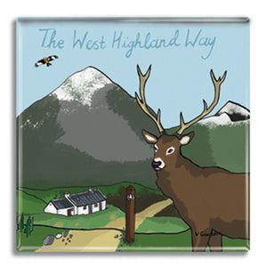 West Highland Way  Fridge Magnet<br>(Pack of 10)