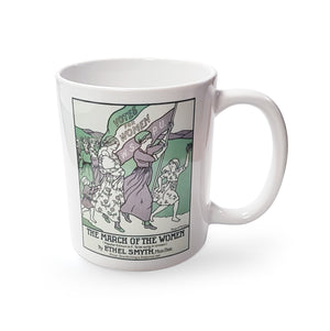 The March of the Women Mug<br>(Pack of 6)