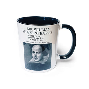 First Folio Mug<br>(Pack of 6)