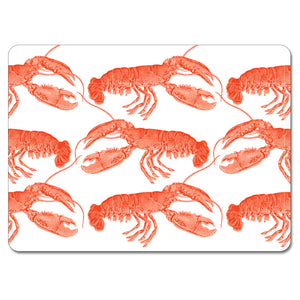 Lobster Tablemat Set of 4<br>(Pack of 2)