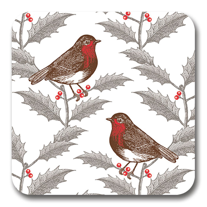 Robin and Holly Potstand<br>(Pack of 5)