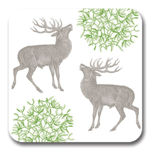Stag and Mistletoe Potstand<br>(Pack of 5)