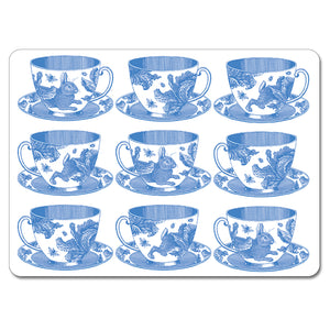 Teacups Tablemat Set of 4<br>(Pack of 2)