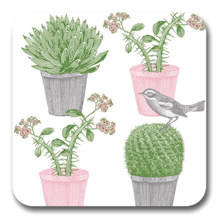 Cactus and Bird Potstand<br>(Pack of 5)