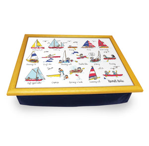 Sailing  Cushion Tray<br>(Pack of 2)