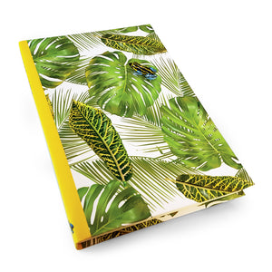 Frog with Leaf Background Hardback Journal<br>(Pack of 5)